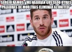 Enlace a Sergio Ramos, creo que vas a volver al banquillo muy pronto