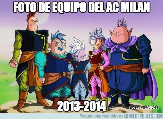 102947 - Foto de equipo del AC Milan