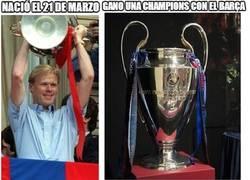 Enlace a La profecía del 21-M del Barça