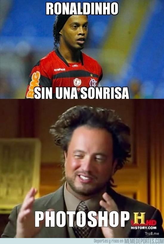 103445 - Ronaldinho sin una sonrisa