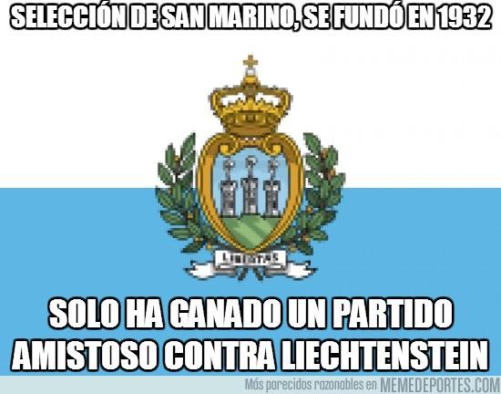 103901 - Selección de San Marino, se fundó en 1932