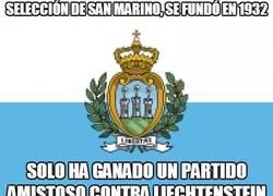 Enlace a Selección de San Marino, se fundó en 1932