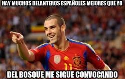 Enlace a Hay muchos delanteros españoles mejores que yo