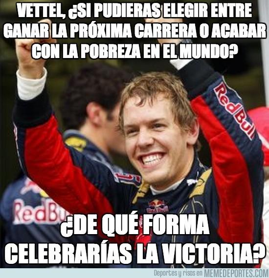 104518 - Vettel sólo tiene una cosa entre ceja y ceja