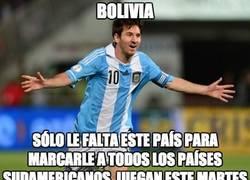 Enlace a Messi va a por Bolivia