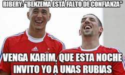 Enlace a Ribery y Benzema, cómplices de vicio