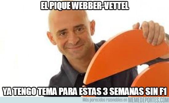 105111 - El pique Webber-Vettel
