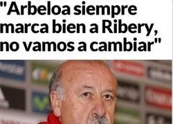 Enlace a Arbeloa contento está contento con la decisión de Del Bosque
