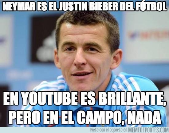 105317 - Neymar es el Justin Bieber del fútbol