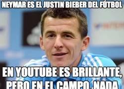 Enlace a Neymar es el Justin Bieber del fútbol