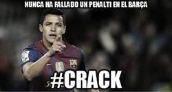 Enlace a Nunca ha fallado un penalti en el Barça
