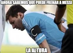 Enlace a Ahora sabemos qué puede frenar a Messi