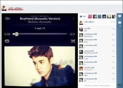 Enlace a ¿Como que Ozil escucha Justin Bieber?
