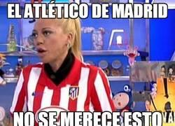 Enlace a El Atlético de Madrid no se merece esto