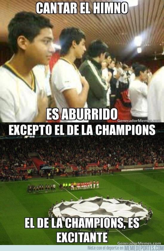 107174 - El himno de la champions es ¡EXCITANTE!