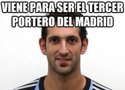 Enlace a Viene para ser el tercer portero del Madrid