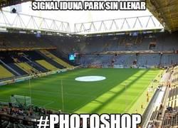 Enlace a Signal Iduna Park sin llenar