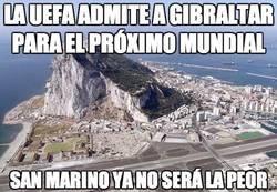 Enlace a La UEFA admite a Gibraltar para el próximo mundial