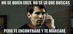 Enlace a Messi en busca de su proxima víctima
