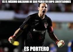 Enlace a Es el máximo goleador de Sao Paulo en Copa Libertadores