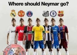 Enlace a ¿Dónde debería ir Neymar?