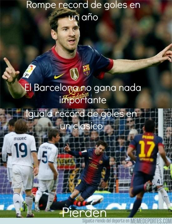 93632 - Messi y los records que no sirven para nada