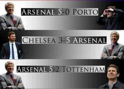 Enlace a Wenger vs Villa-Boas
