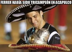 Enlace a Ferrer había sido tricampeón en Acapulco