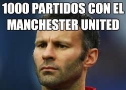 Enlace a 1000 partidos con el Manchester United