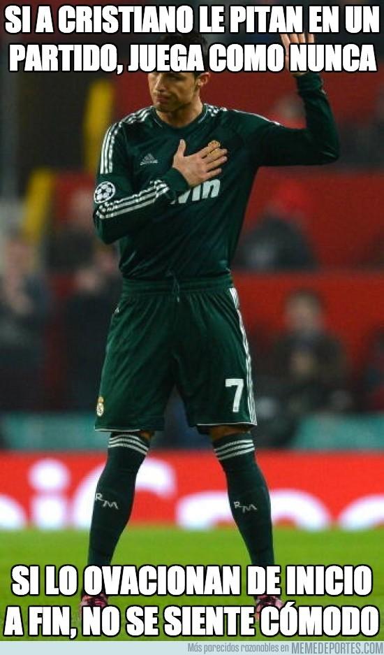 95650 - Si a Cristiano le pitan en un partido, juega como nunca