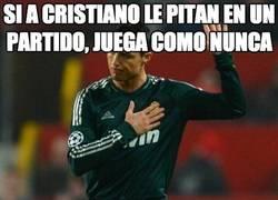 Enlace a Si a Cristiano le pitan en un partido, juega como nunca