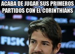 Enlace a Acaba de jugar sus primeros partidos con el Corinthians