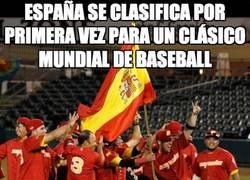 Enlace a España se clasifica por primera vez para un clásico mundial de baseball