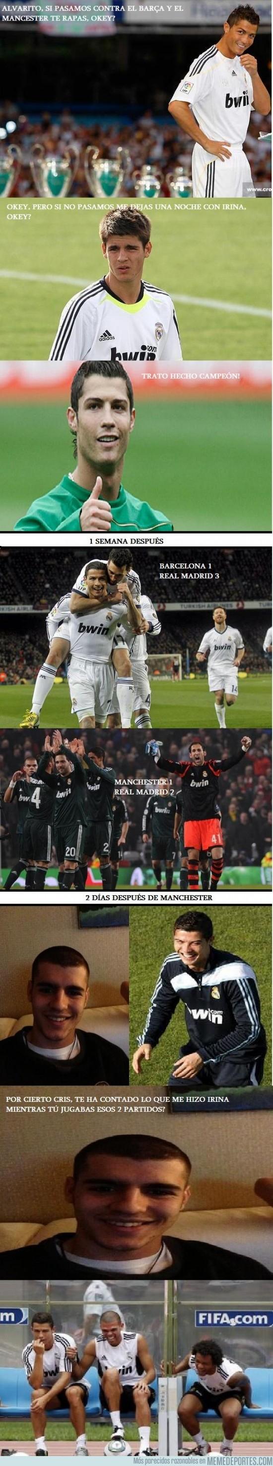 96577 - Álvaro Morata, el troll del Real Madrid