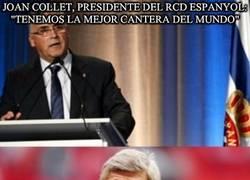 Enlace a Joan collet, presidente del rcd espanyol: