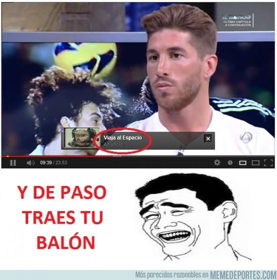 98186 - Anuncios de Youtube trolleando a Sergio Ramos