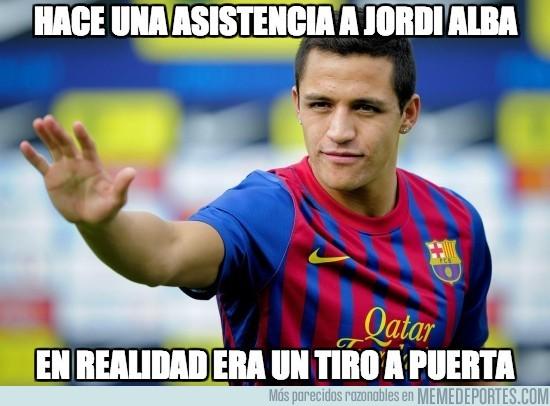 98449 - Hace una asistencia a Jordi Alba