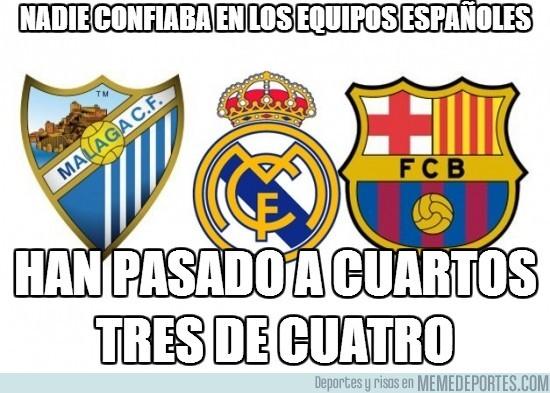 99160 - Nadie confiaba en los equipos españoles