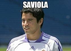 Enlace a Saviola, chico champions