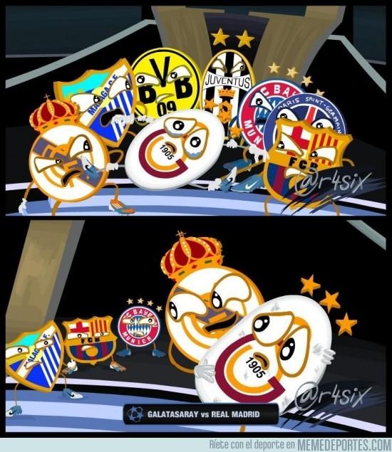 99995 - Galatasaray - Real Madrid en cuartos por @r4six