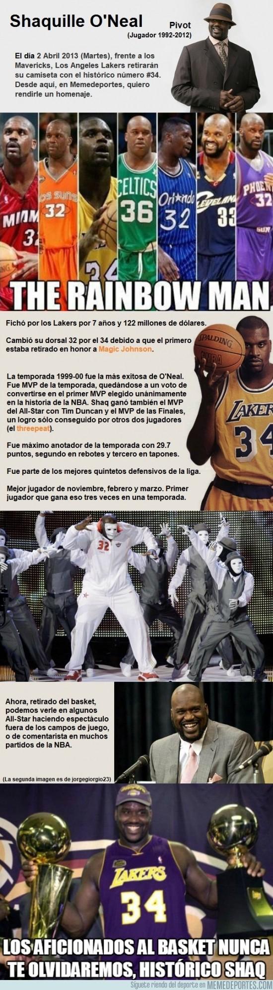 108321 - Los Lakers le retiran el número #34 a Shaq O'Neal, aquí un pequeño homenaje