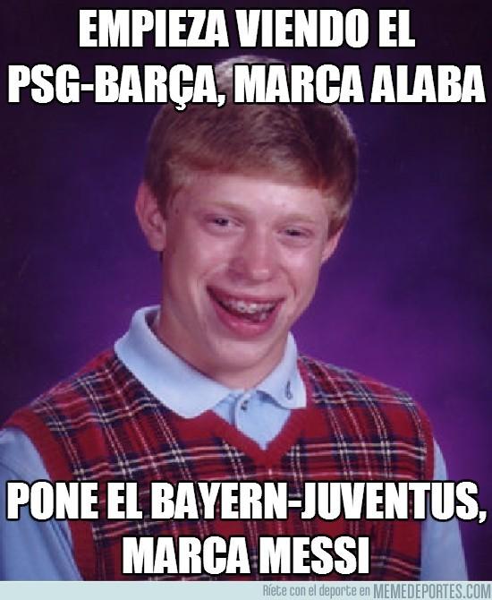 109405 - Empieza viendo el PSG-Barça, marca Alaba