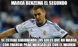 Enlace a Marca Benzema el segundo