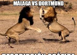 Enlace a Málaga vs Dortmund