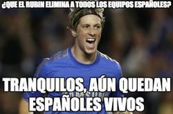Enlace a ¿Que el Rubin elimina a todos los equipos españoles?