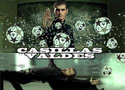 Enlace a Valdés vs Casillas