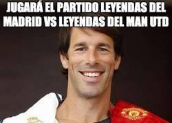 Enlace a Jugará el partido Leyendas del Madrid Vs Leyendas del Man Utd