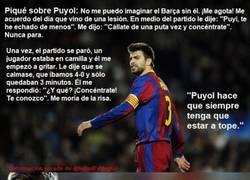 Enlace a Piqué y Puyol, alumno y maestro, una amistad que va más allá del fútbol