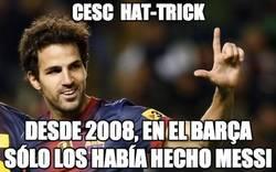 Enlace a Desde 2008 sólo hacía hat tricks Messi