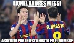 Enlace a Lionel ANDRÉS Messi